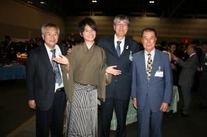 日水協全国会議懇親会にて(平成26年10月29日)